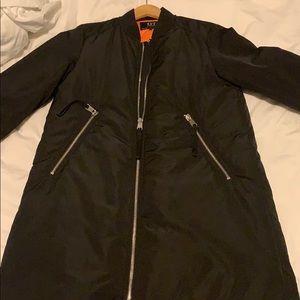 Zara long winter coat